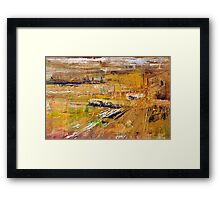 Throw Yourself To The River Framed Print
