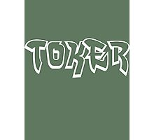 """Toker"" Marijuana Photographic Print"
