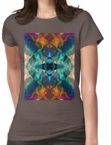 Inkblot Imagination Womens Fitted T-Shirt