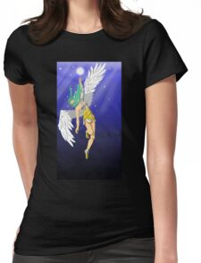 Water Angel Womens Fitted T-Shirt