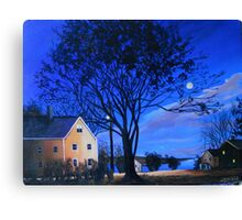 Evening, Eastern Shore, Maryland Canvas Print