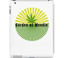 Funny Marijuana iPad Case/Skin