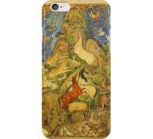 Wild Animals assortment Circa 1600 iPhone Case/Skin