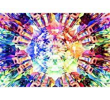 Spectrum Fractal Photographic Print