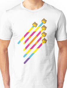 Flying to Colortown Unisex T-Shirt