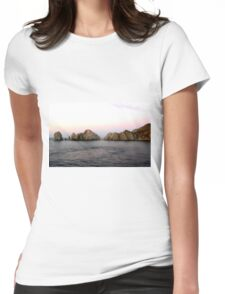 LANDS END CABO SAN LUCAS MEXICO Womens Fitted T-Shirt