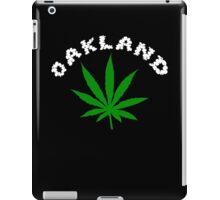 Oakland Marijuana iPad Case/Skin