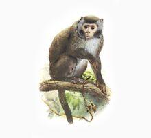 Wild Monkey Vintage illustration Unisex T-Shirt