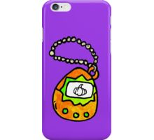 pumpkingotchi iPhone Case/Skin