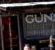 GUNS, GUNSMITH PIONEER TOWN, CALIFORNIA Sticker