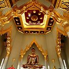 The golden Buddha. by debjyotinayak