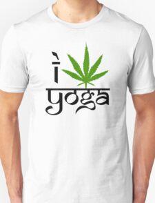 I Marijuana Yoga Unisex T-Shirt