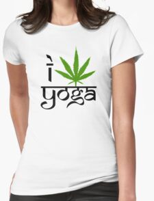 I Marijuana Yoga T-Shirt