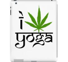 I Marijuana Yoga iPad Case/Skin