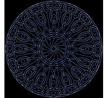 Moonlight Mandala Photographic Print