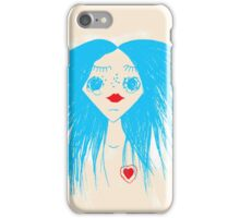 Girl in Love iPhone Case/Skin