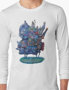 Fandom Moving Castle Long Sleeve T-Shirt