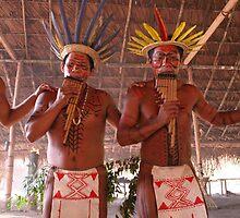 Amazon Negro River Indians Ritual by James Martins Pereira