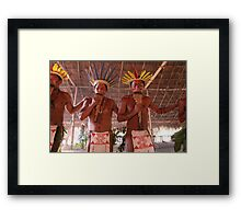 Amazon Negro River Indians Ritual Framed Print