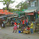 Street vendors in Mombasa, KENYA by Atanas NASKO