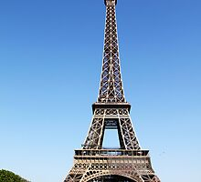 Eiffel Tower by Peggy Berger
