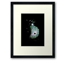 Icicle Ball Framed Print