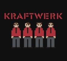 Kraftwerk 8-bit Kids Clothes
