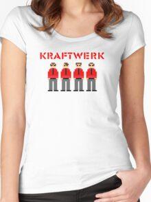 Kraftwerk 8-bit Women's Fitted Scoop T-Shirt