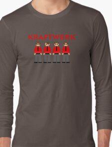 Kraftwerk 8-bit Long Sleeve T-Shirt
