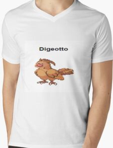 Digeotto Mens V-Neck T-Shirt