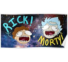 Rick and Morty (Ver. B) Poster