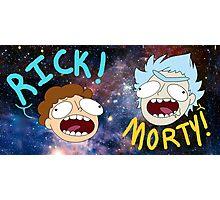Rick and Morty (Ver. B) Photographic Print