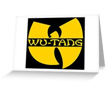 MUSIC - Wu-Tang Clan Logo  Greeting Card