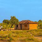 Tribal house outside Mombasa, Kenya by Atanas NASKO