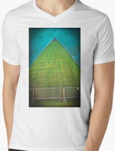 Crashed to Earth Mens V-Neck T-Shirt