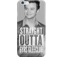 Straight Outta 6 years Glee Club iPhone Case/Skin