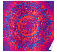 Hippie Mandala Poster