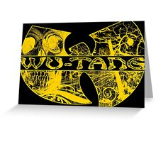 MUSIC - Wu-Tang Clan Logo V2.0 Greeting Card
