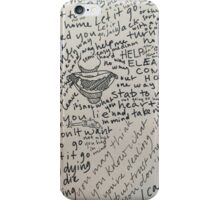 Words 3 iPhone Case/Skin