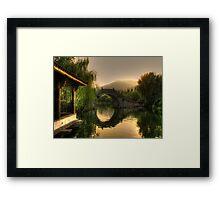 Asian Arch Framed Print