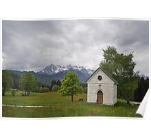 Alpine Refuge Poster