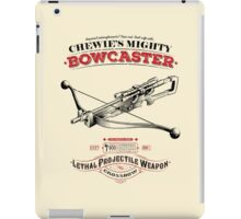 The Mighty Bowcaster iPad Case/Skin