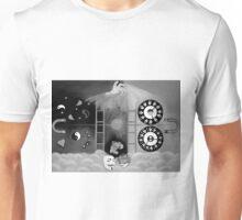 X-ray perception ( black and white Unisex T-Shirt
