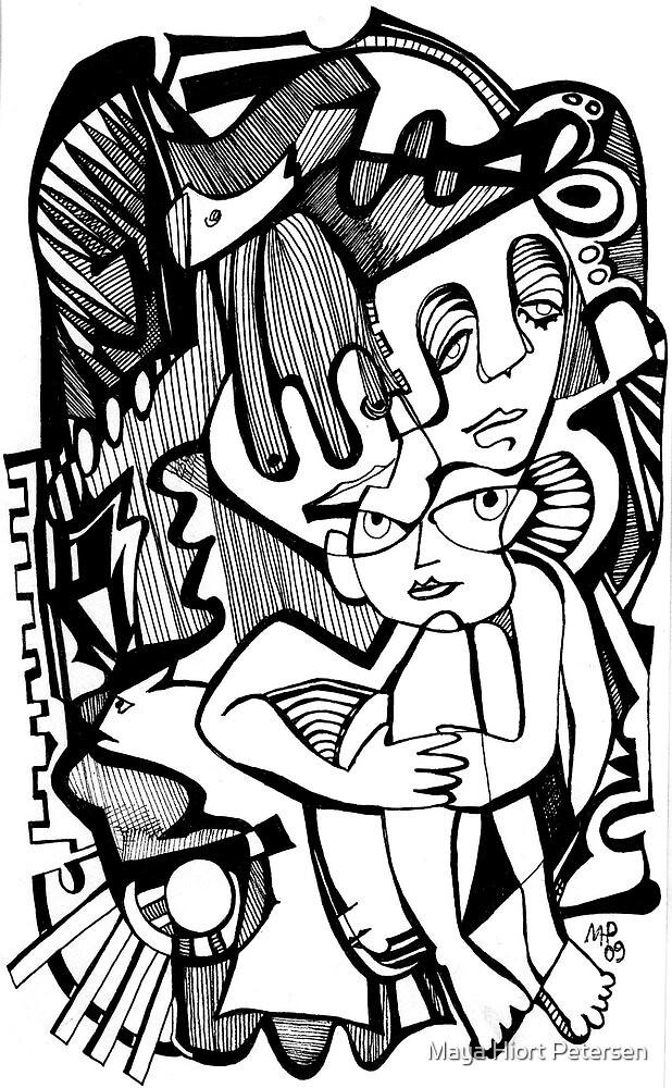 A Little Bit Shy by Maya Hiort Petersen