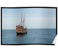 Pirates Ahoy Poster