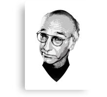The Larry David Canvas Print