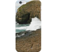 Waves On The Ledge iPhone Case/Skin