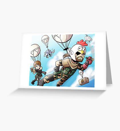 Metal Gear Solid V - Chicken Hat Ver. Greeting Card