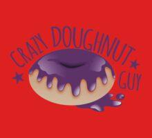 Crazy Doughnut Guy One Piece - Short Sleeve