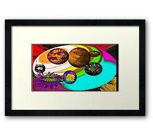 Chromataron, Protector of the Retrochian Planet System Framed Print